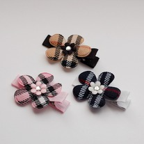 Classic Plaid Flower Set