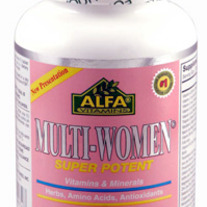 Multi-Women® Super Potent Multi-Vitamin 100 tabs by Alfa Labs