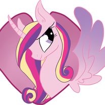 Princess Cadance Sticker