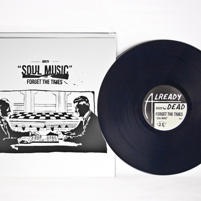 "Forget the times 'soul music' 12"" lp (ad029)"
