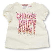 "Juicy Couture Angel Tshirt ""Choose Juicy"""
