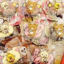 RARE Rilakkuma Chocolate Cafe Squishies