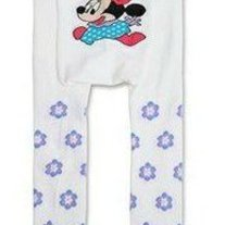 Minnie Mouse Style Legging Pants White