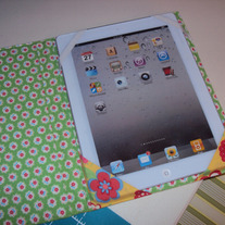 Custom iPad Trifold Standup Cover