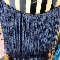 Full Head Crochet Feathers Box Braids (Handmade) - Thumbnail 2
