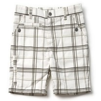 Appaman Plaid Board Shorts- Gold/Blk