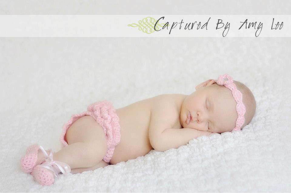 Crochet Patterns Newborn Photo Props : Crochet Pattern - Newborn Ballerina Photo Prop ? Petals to Picots ...