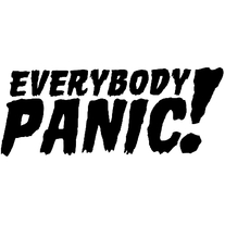 EVERYBODY PANIC! Sticker