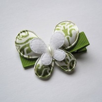 Satin butterfly, Green