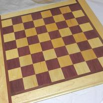 In Chess | Checker Board