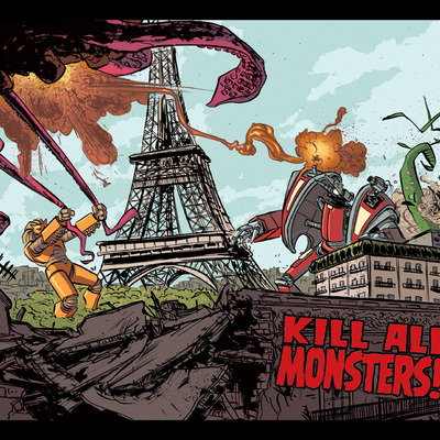 Kill all monsters print 2