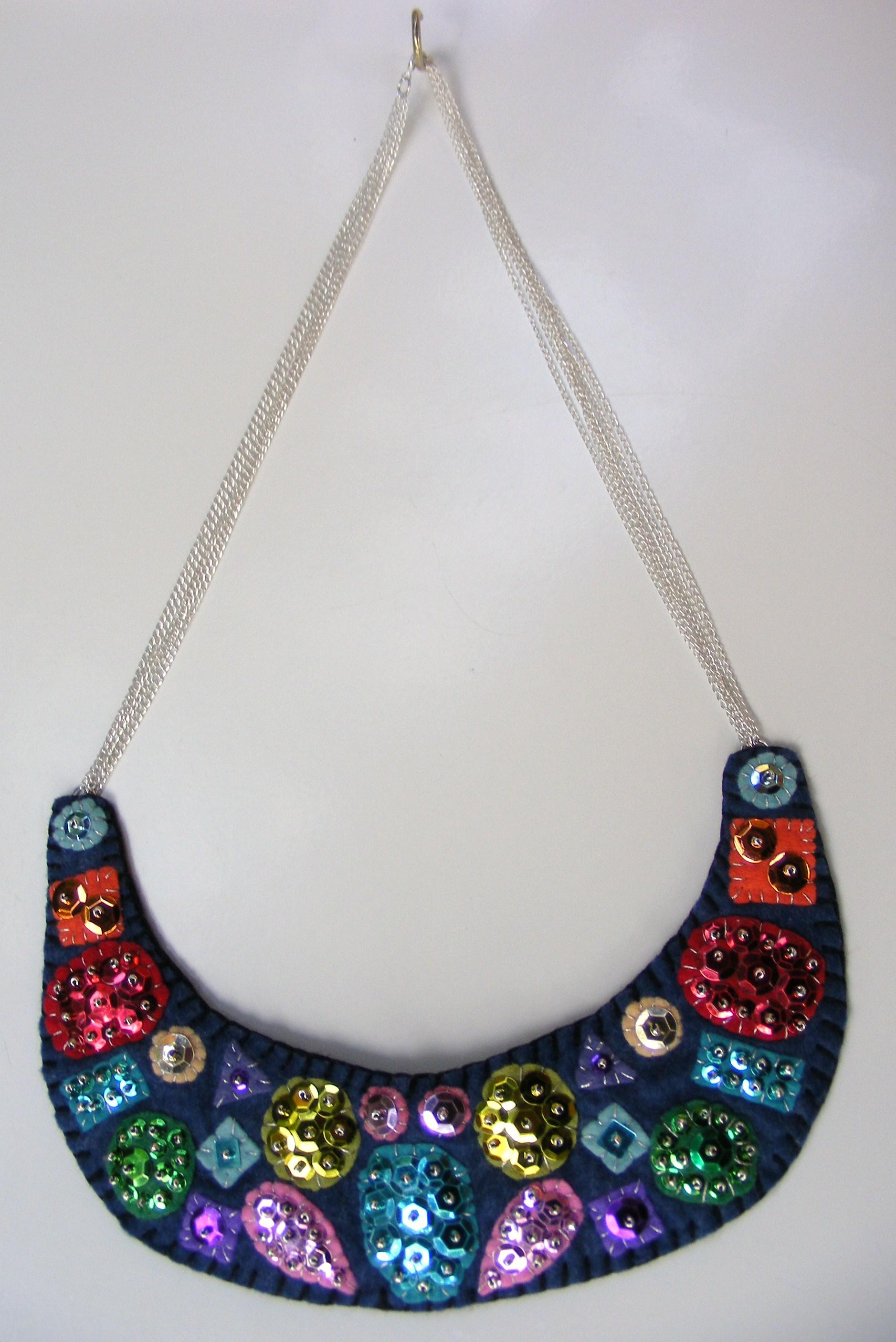 25 unique felt necklace ideas 100 images diy felt