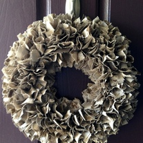 USMC Desert Base Wreath-Customizable