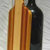 Wine Bottle 6 Liter Shaped Cutting Board