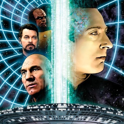 Star trek: the next generation: the space between #5 artist print
