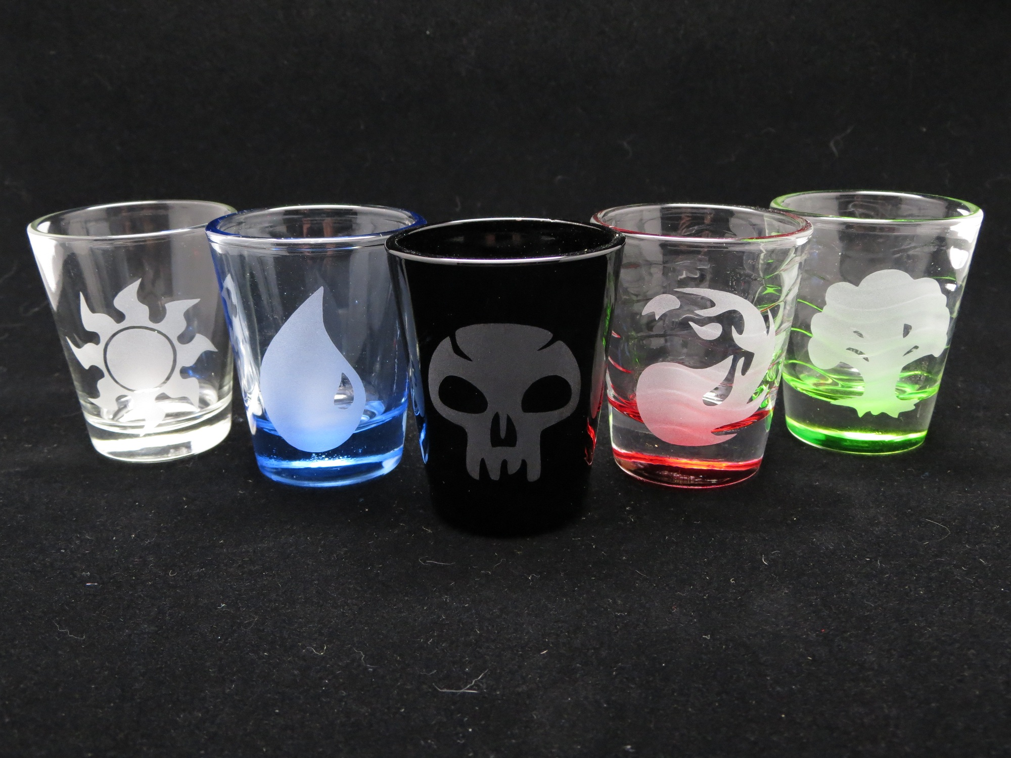 Mana Shot Glass Set