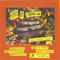 "Heats of Formation ""Indocrinates Blank"" 7"" EP (formerly Book Slave)"