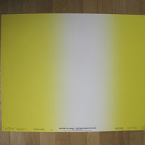 Vintage PANTONE® Poster - Graduated Process Yellow