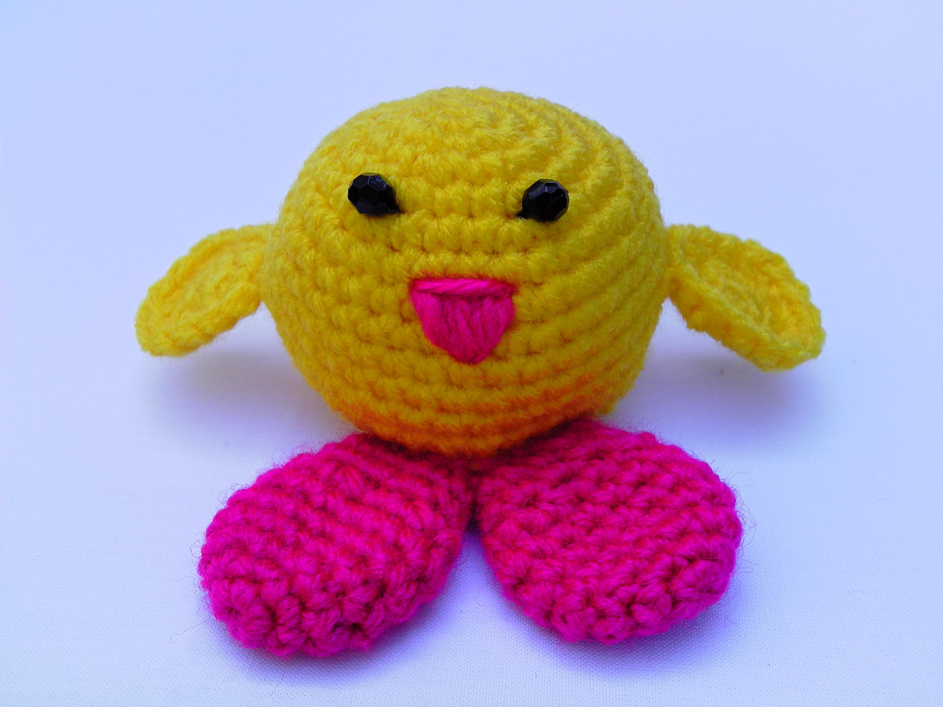 Amigurumi Crochet Toys : Amigurumi Chicken Crochet Toy on Storenvy