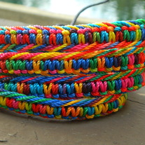 Multi Colored Rainbow Bracelet