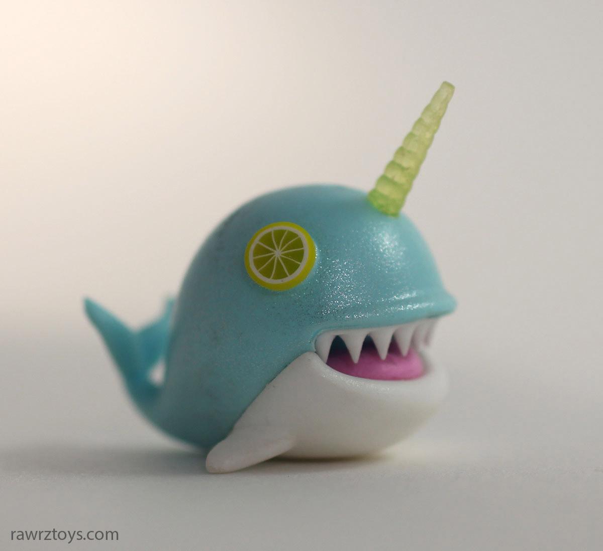 Lemon Shark Toys : Rawrz toys teal narwhal with lemon eyes online store