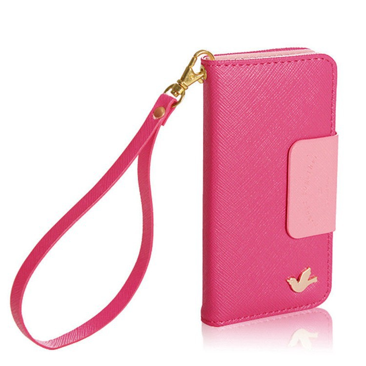 Cute Leather Wallet iPhone Case from simplicity