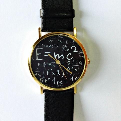 Einstein Watch E Mc2 Equation Watch Vintage Style