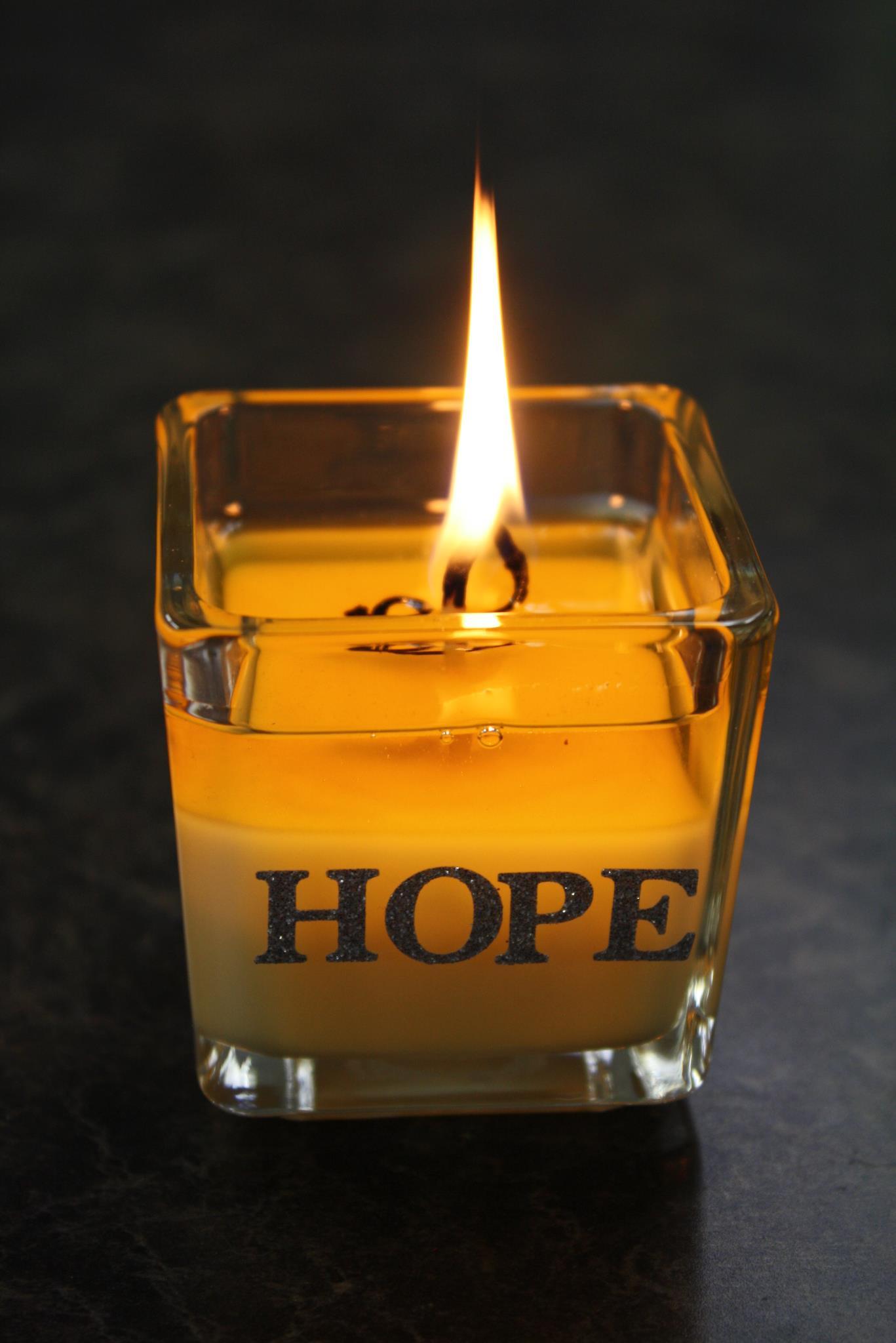 Lavender Cucumber Sage 2 Ounce Quot Hope Quot Decor Soy Candle