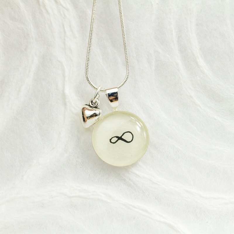 Infinity Necklace Infinite Love Necklace Infinity Symbol Jewelry