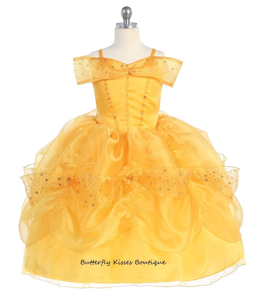 Belle Princess Toddler Girls Costume · Butterfly Kisses