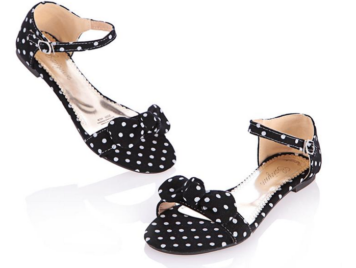 Cute Bow Flat Shoes