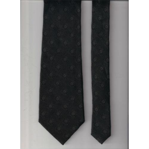 3c9e69f20948 Bruno Piattelli Roma Silk Tie Black on Storenvy