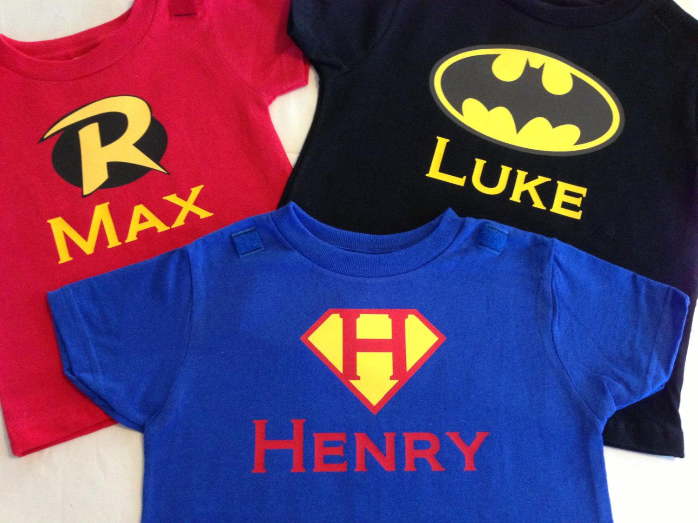 51db7fe42 Personalized Superhero T-Shirt, Custom Super Hero Shirt with Name ...