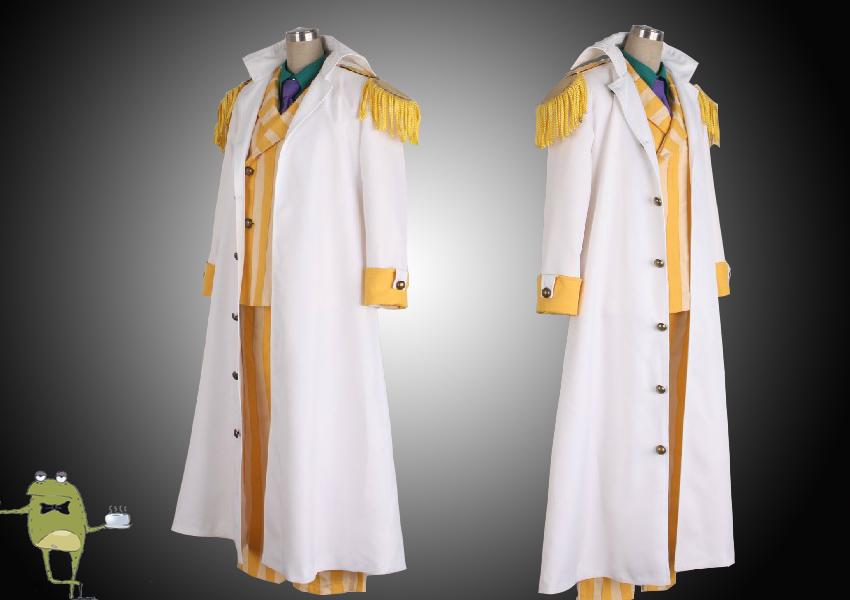 One Piece Admiral Kizaru Borsalino Cosplay Costume Marine Coat From Cosplayfield Anime Costumes