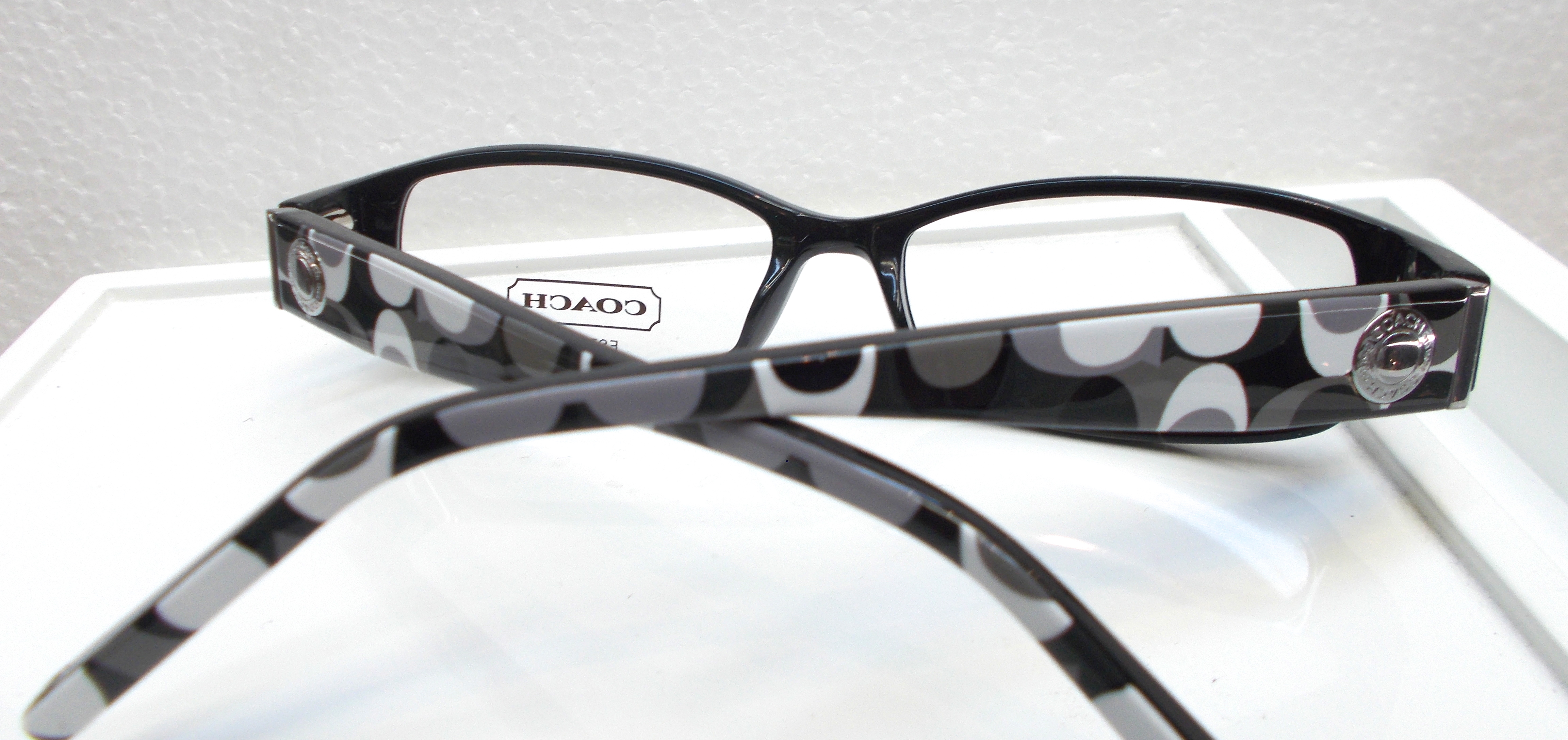 Coach Eyewear Roberta (843) Black 48-15-135mm on Storenvy