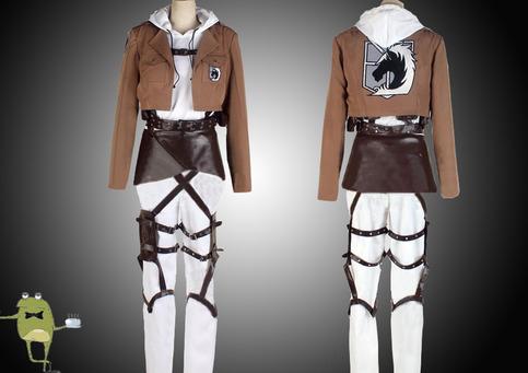 Attack on Titan Military Police Uniform Annie Leonhardt ...