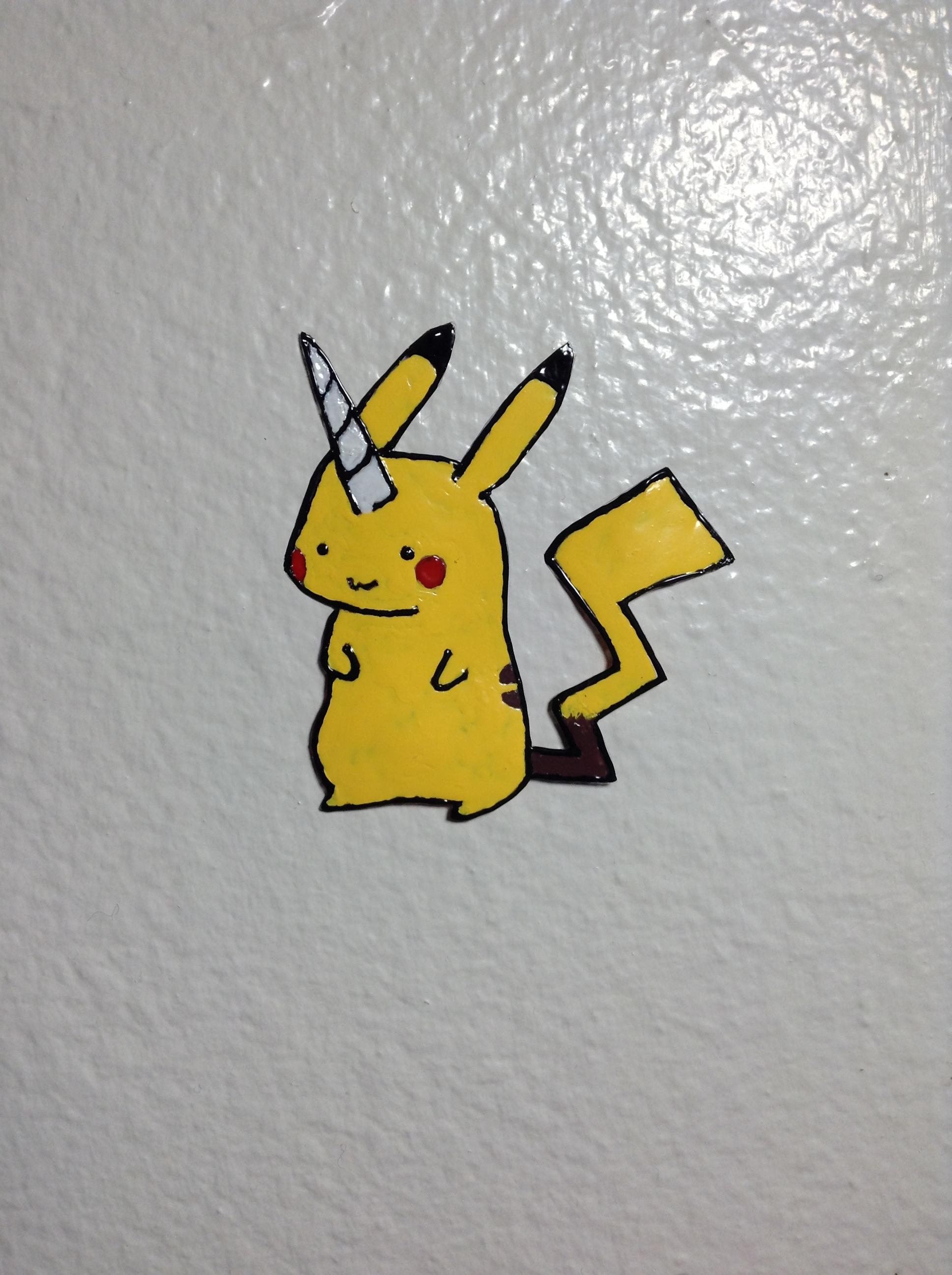 Pikachu Unicorn Wall Deco on Storenvy