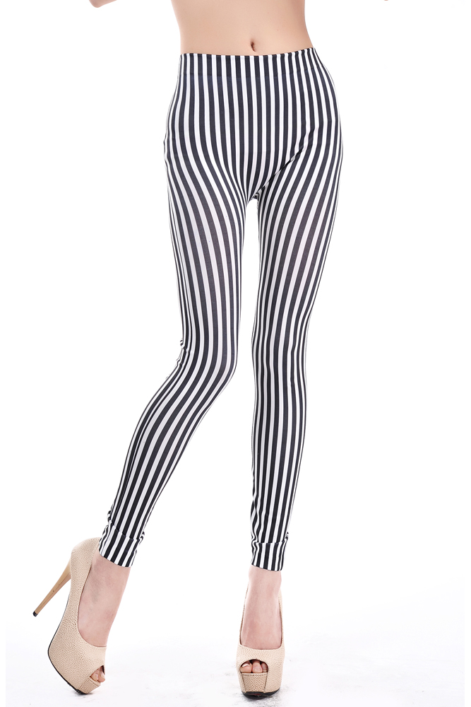 Black and white striped leggings Nude Photos 44