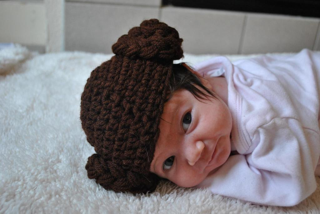 c299bbe733a Baby Princess Leia Hat on Storenvy
