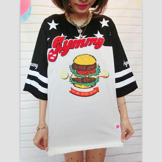 NEW Harajuku hamburg t shirt · Harajuku fashion · Online Store ... c6e74c008