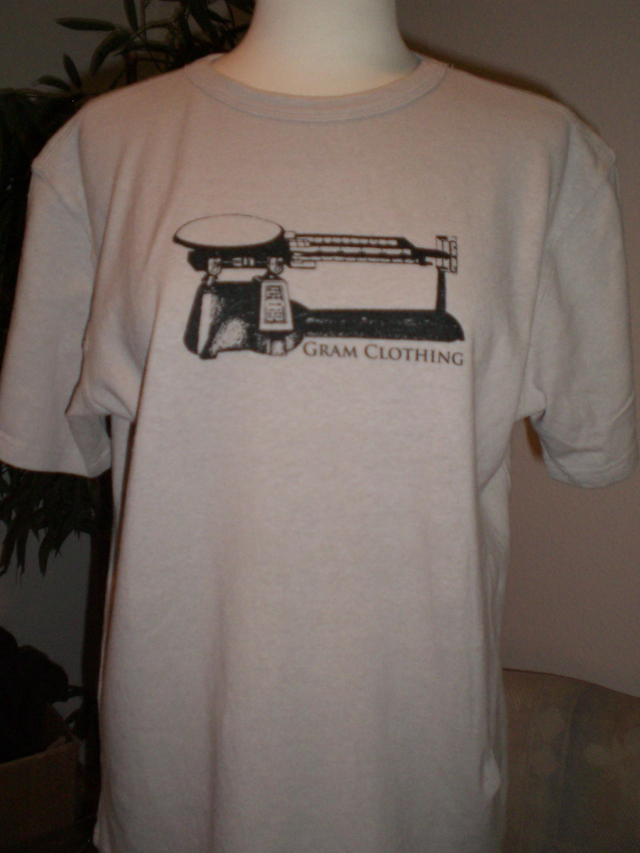 d3a4a7368c59 Hemp GRAM scale T shirt on Storenvy