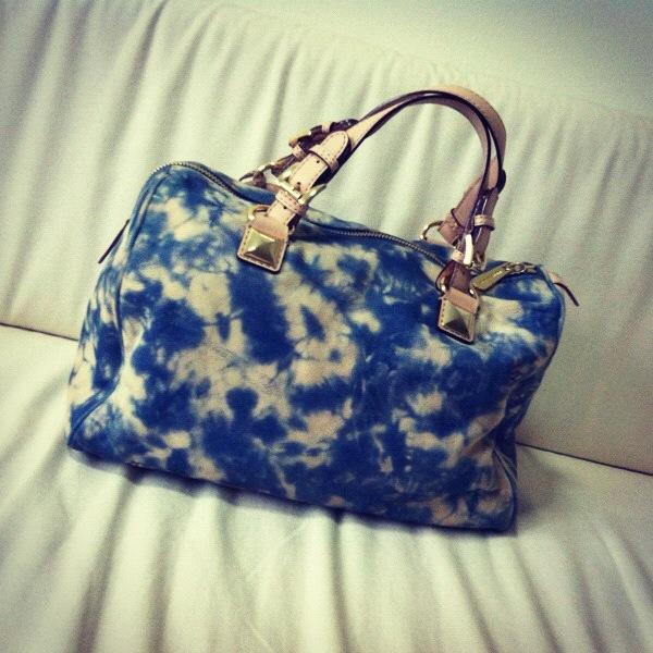 bb154a51f76a05 MICHAEL KORS Tie Dye Grayson Leather Bag on Storenvy