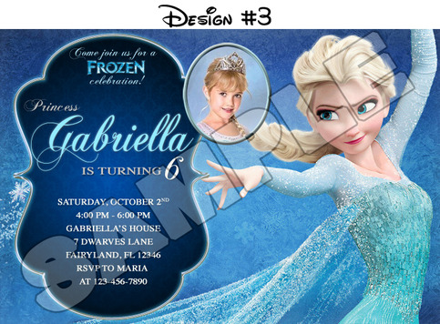 It is an image of Frozen Invites Printable pertaining to baptismal