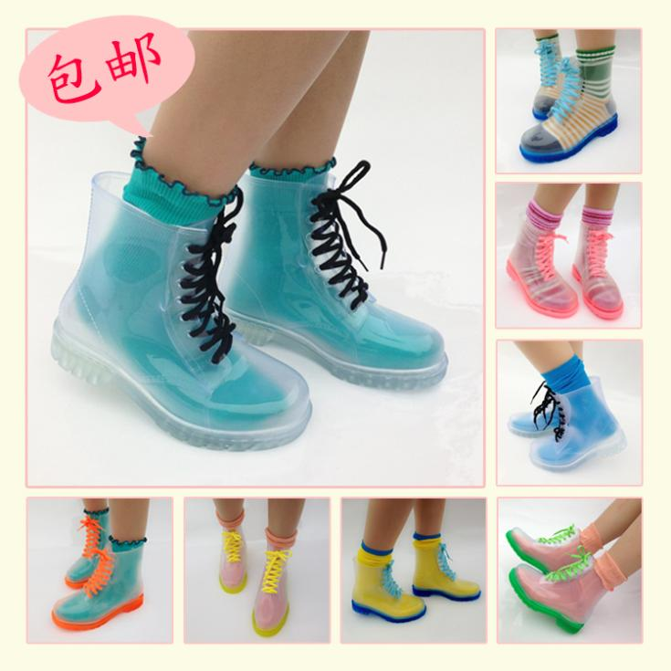 Botas Transparentes Clear Boots Wh240 On Storenvy