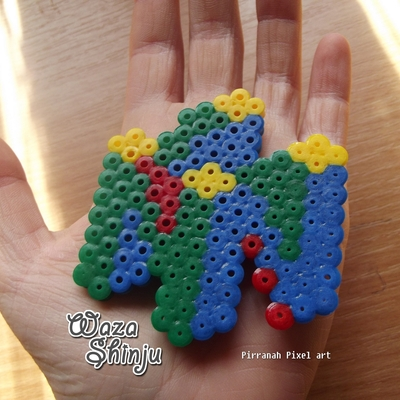 N64 Logo Pixel Art Waza Shinju Online Store Powered By