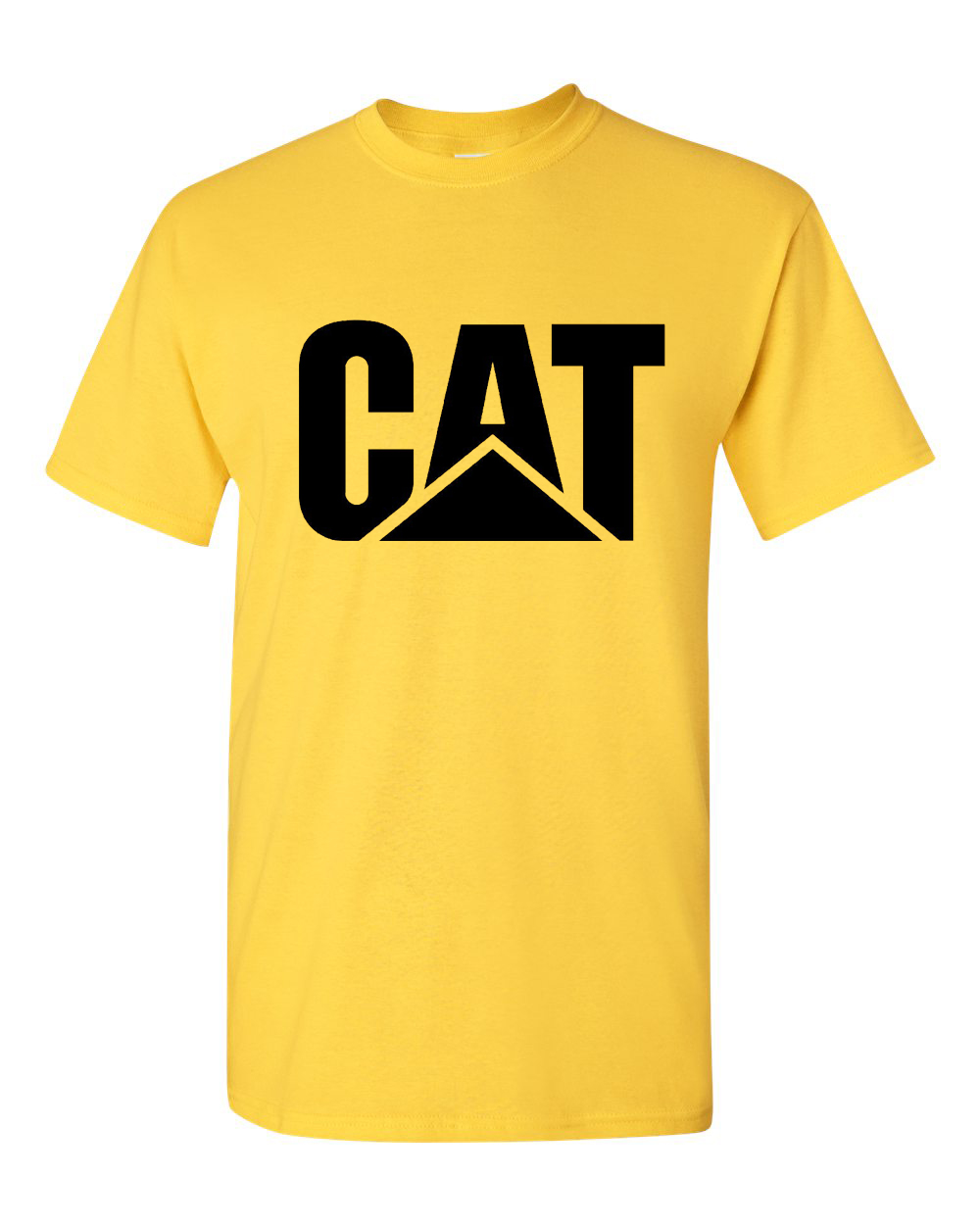 Cat Caterpillar Machine Engine Diesel Power Logo Mascot