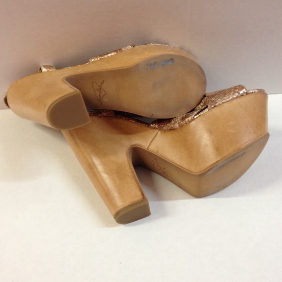 4d1c1afcb ... Sam Edelman  Wooden Platform Shoes (Consignment Shop) - Thumbnail 3