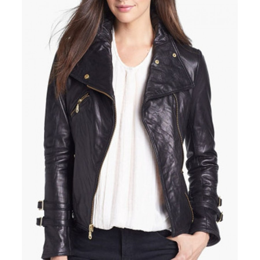 Buy leather jackets for women