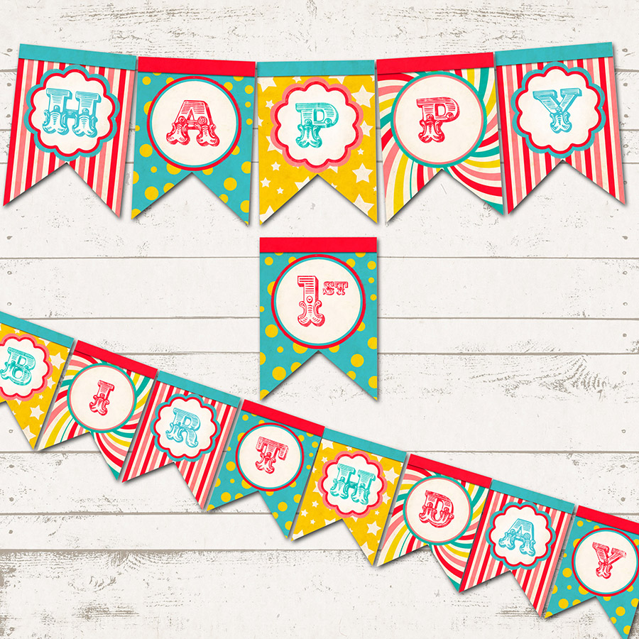 Outstanding Printable Birthday Banner