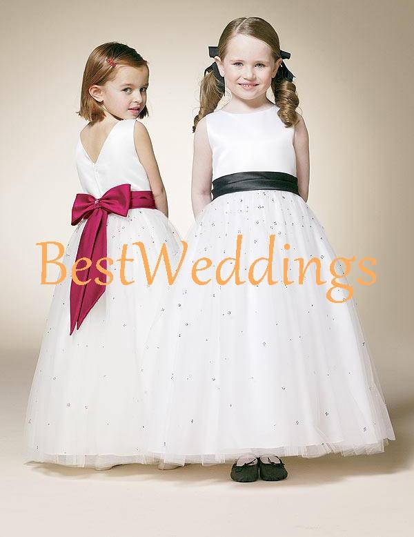 3ec8237b796 white flower girl dress organza ruched blush sashes kids girl tutu dress  toddler dress